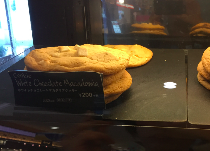 スタバのホワイトチョコレートクッキー