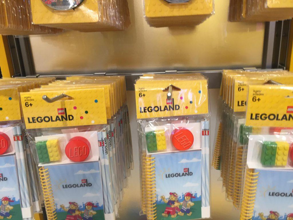 レゴランド限定品お土産のメモ帳セット