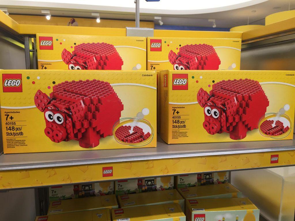 レゴ 貯金箱