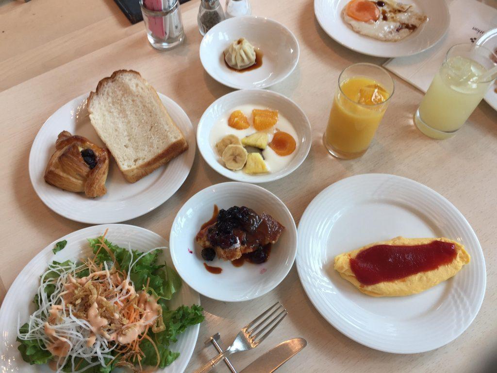 ホテルザマンハッタンの朝食ブッフェ