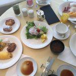 ホテルニューオータニの朝食ブッフェ