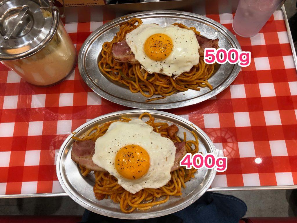 持ち帰り パンチョ 『スパゲッティーのパンチョ』相模原店は大盛別料金かつ量が少ない件